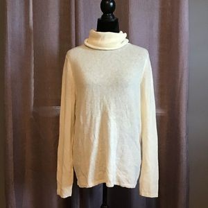 Banana Republic alpaca blend turtleneck sweater